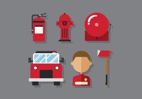 Vector Brandweerman