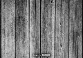 Realistische Vector Grey Hardwood Planks Achtergrond
