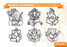 Ganesh Gratis Vector Pakket