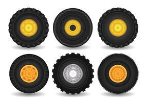 Tractor Band Vector