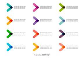 Vector Kleurrijke Kogelpunten