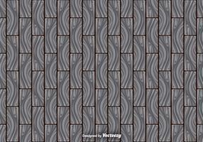 Abstract Grijs Loofhout Planken Naadloos Patroon vector
