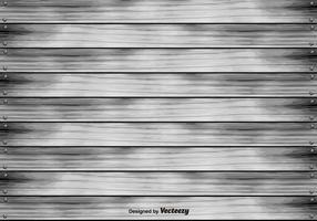 Abstract Grijze Hardhout Planken Achtergrond vector