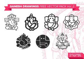 Ganesh Gratis Vector Pack Vol. 2
