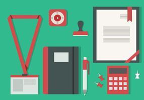 Gratis Flat Design Icon Set van Business Vector