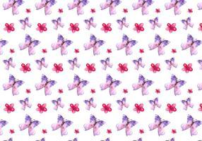 Gratis Vector Waterverf Papillon Achtergrond