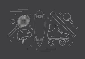 Gratis Sport Vector Pictogrammen