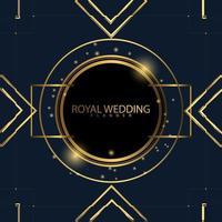 vip luxe gouden koninklijke bruiloft achtergrond