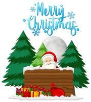 vrolijk kerstthema