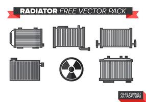 Radiator Gratis Vector Pakket