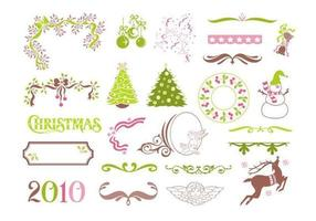 Christmas Vector Elements Pack