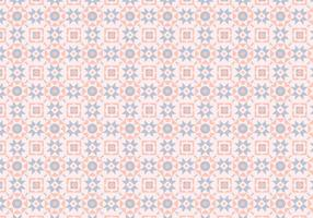 Mozaïek Roze Pastelpatroon vector