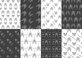 Ribcage patroon vectoren