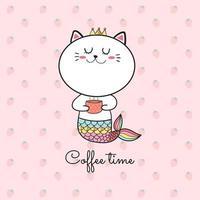 zeemeermin koffie tijd