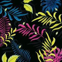 kleurrijke bloemmotief achtergrond vector