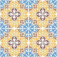 decoratief siertegelpatroon vector