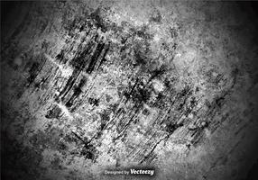 Gekrapte En Grungy Betonwand Textuur vector