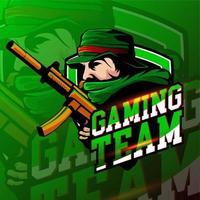 esport rebel gaming-logobadge vector