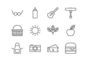Pictogram voor picknicklijnen