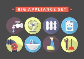 Huishoudelijke voorwerpen vector
