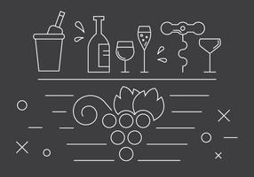 Gratis Wijn Pictogrammen vector