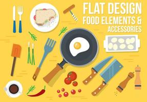 Gratis Food Vector Design