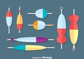 Vissen lokmiddel verzameling vector