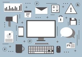 Gratis Digital Marketing Vector