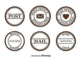 Postzegel Vector