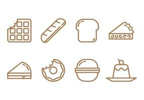 Kruiden En Snacks vector