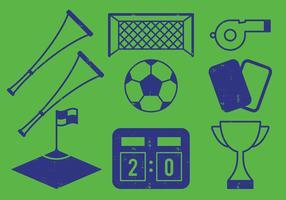 Voetbal icoon vector