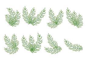 Palmzondag Vector Palmen