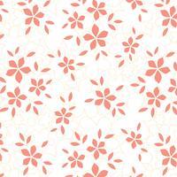 Flower Textura Gratis Vector Achtergrond