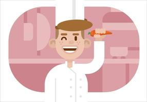 Vector chef-kok