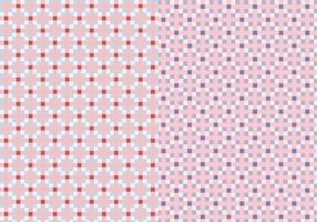Roze Vierkante Patroon vector