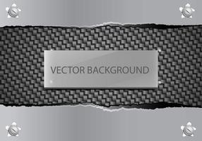 Metalen Tear Achtergrond vector