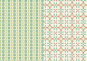Geometrische steekpatroon vector