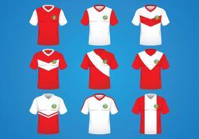 Peru jersey concept vector