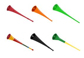 Gratis Vuvuzela Vector
