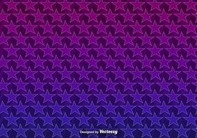 Vector Achtergrond Met 3D Paars Sterren Naadloos Patroon