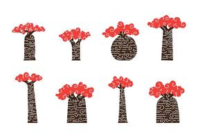Baobab kunst vector