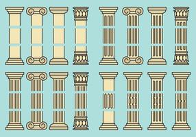 Bewerkbare pijlers