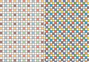 Controleer Kleurrijk Patroon vector