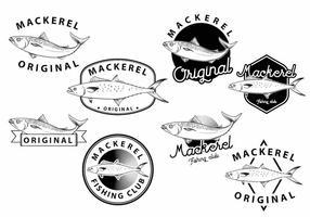 Makreel Badge Set