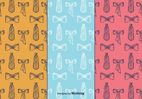 Cravat patroon vector