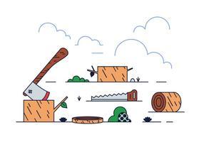 Gratis Log Vector