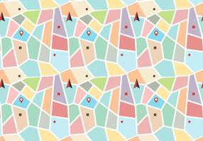 Kleurrijke Plattegrond Legende Vector