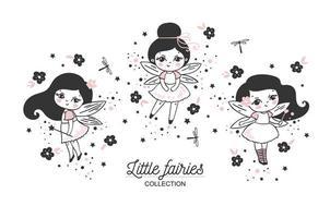 schattige kleine feeëncollectie