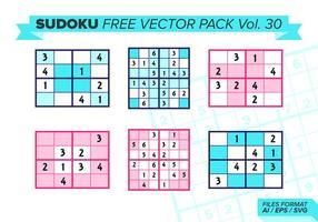 Sudoku Gratis Vector Pack Vol. 30