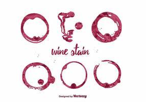 Wijnsticker Vector